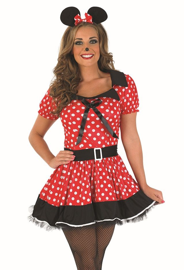 Missy Mouse Costume 2393 Plus Size Minnie Mouse Fancy Dress Costume